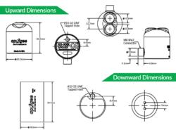 NDVI Sensor Dimensions